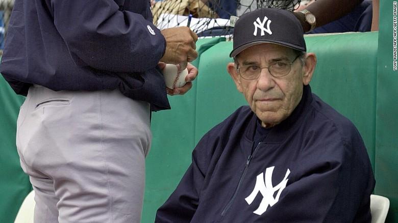 Hall of Famer Yogi Berra passed away last night at the age of 90.