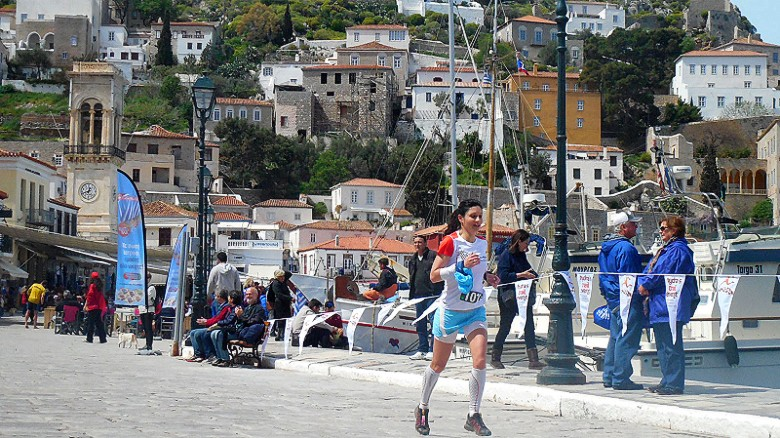 Greece running