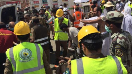More than 700 killed in Hajj pilgrimage stampede