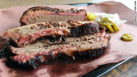 Snow's BBQ in Lexington, Texas, was rated the best barbecue in the state by Texas Monthly in 2008.