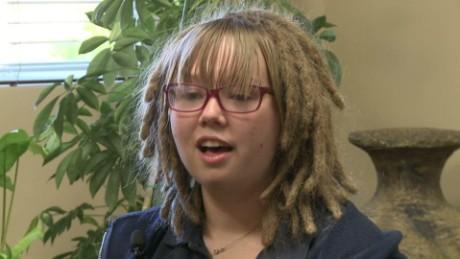 dreadlocks white girl discrimination race utah school dnt_00000730