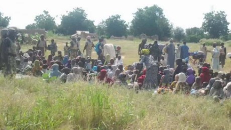 Nigerian military: 241 hostages rescued in raids