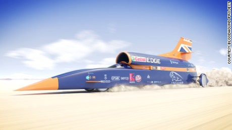An rendering of the Bloodhound SSC.