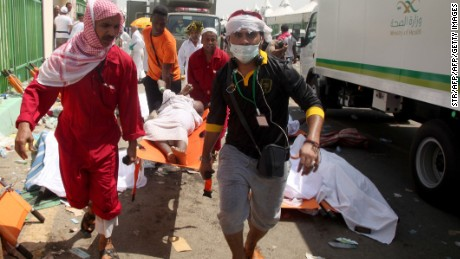 At least 717 killed in Hajj stampede