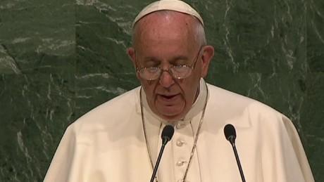 cnnee brk sot pope francis economic humanity onu_00001806