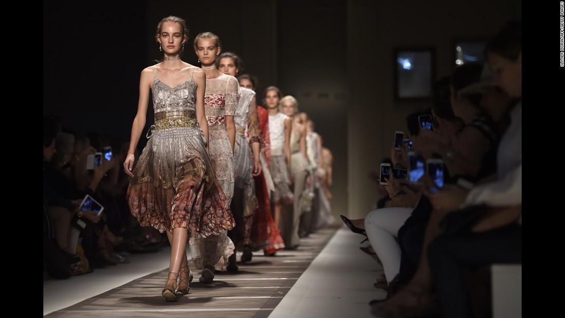 Milan fashion week Italy Famous