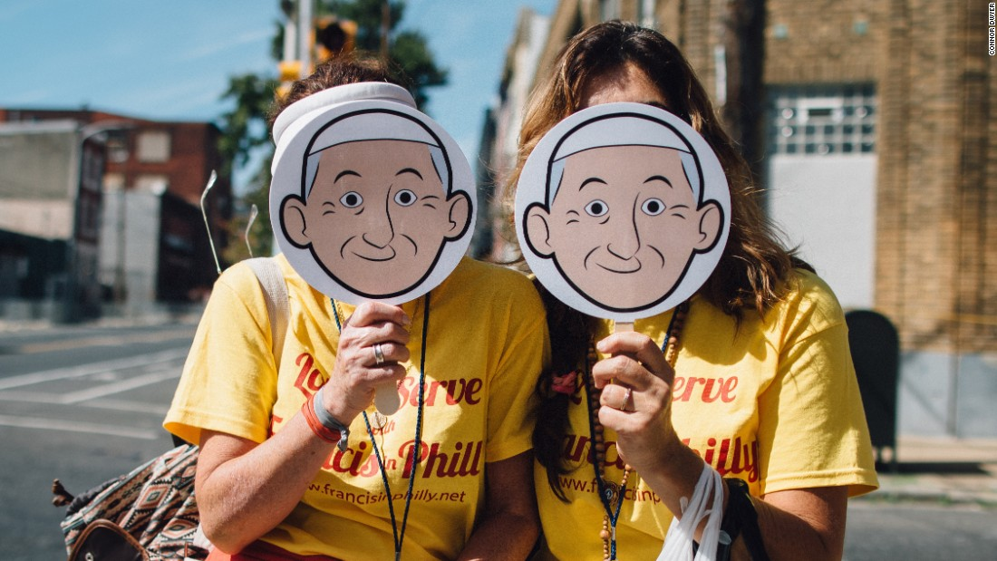"""The Aleteia social media campaign <a href=""""https://twitter.com/popeishope"""" target=""""_blank"""">@Popeishope</a> came up with the hashtag #goodiswinning so that people could share their experiences with the Pope's visit and follow along during his trip."""