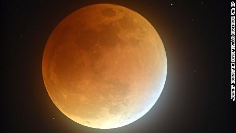 Rare supermoon eclipse