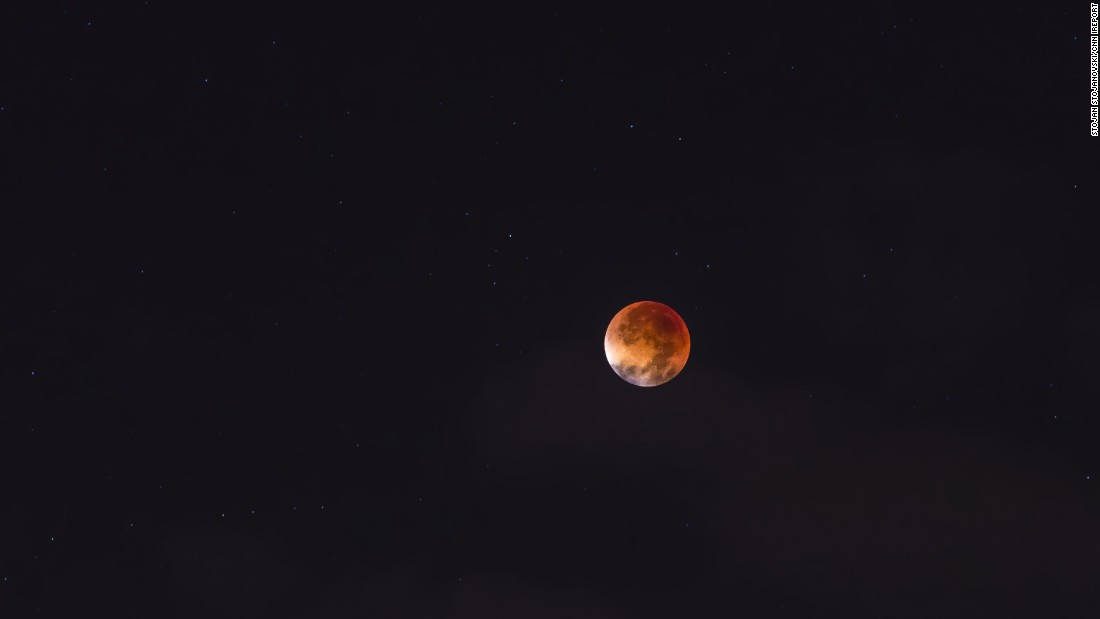 """<a href=""""http://ireport.cnn.com/docs/DOC-1273283"""">Stojan Stojanovski </a>took a collection of photos of the supermoon eclipse in Ohrid, Macedonia. He said all the weather websites predicted cloudy, rainy skies. """"But I waited and believed that the weather would get better and I would see this fantastic eclipse,"""" he said."""