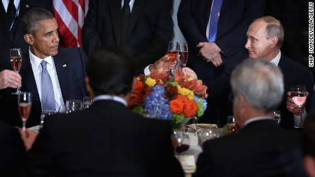 Vladimir Putin steals Barack Obama's thunder on the world stage