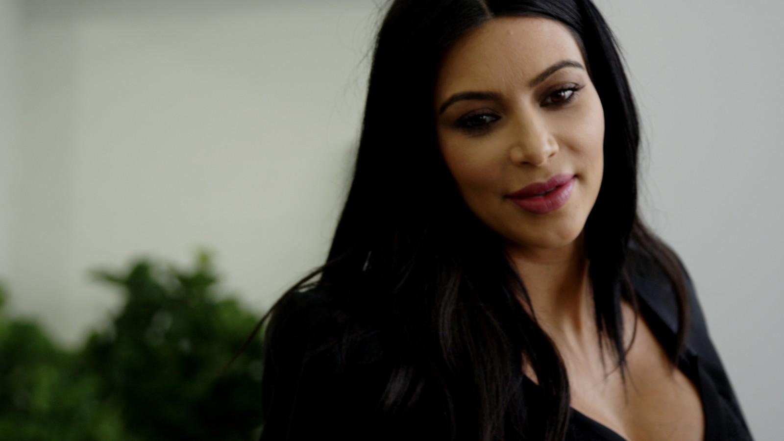 Exclusive: Getting dressed with Kim Kardashian