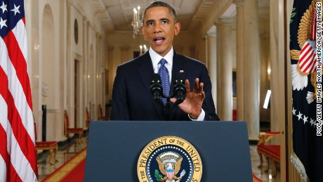 President Barack Obama announces executive actions on U.S. immigration policy during a nationally televised address from the White House on November 20, 2014 in Washington, DC.