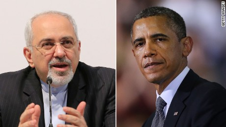 Obama shares historic handshake with Iran foreign minister...