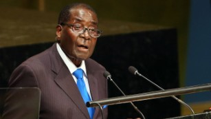 Robert Mugabe to the U.N.: 'We are not gays'