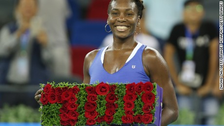 Venus Williams will defend her Dongfeng Motor Wuhan Open title at the Optics Valley International Tennis Center.