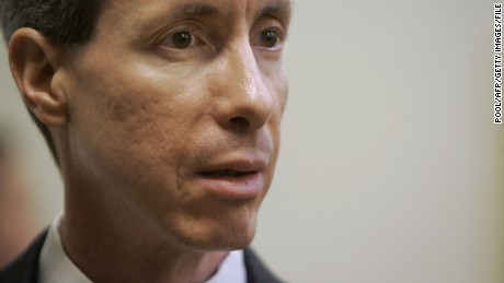 (FILES): This September 24, 2007 file photo shows Warren Jeffs watching as the jury leaves the courtroom to restart deliberations during his trial in St. George, Utah.  Polygamist sect leader Warren Jeffs was found guilty of sexually assaulting two young girls by a Texas jury on August 4, 2011.  The evidence for his conviction came out of a 2008 raid on the reclusive sect's sprawling compound near the small town of Eldorado, Texas amid allegations of systemic sexual and physical abuse.    AFP PHOTO / Files / Pool / Douglas C. Pizac (Photo credit should read POOL/AFP/Getty Images)