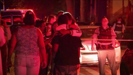 Chicago family gunned down returning home