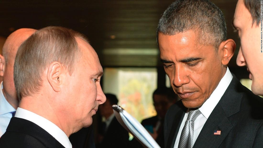 Օբաման Պուտինին հասկացրել է, որ ԱՄՆ-ը չի չեղարկի պատժամիջոցները