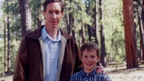 Warren Jeffs with his son, Roy Jeffs