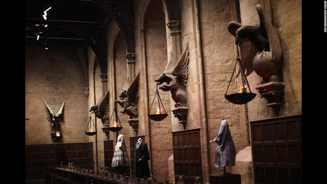 Celebrate Christmas at Harry Potter's Hogwarts | CNN Travel