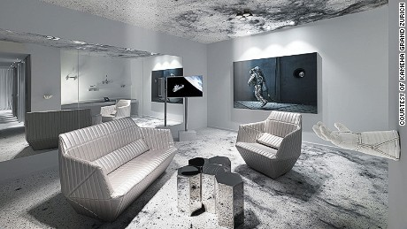 Kameha Grand Zurich to Launch Inventive Space Suite: Created by Visual Artist Michael Najjar