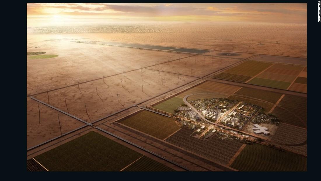 CITE: The $1 billion city that nobody calls home