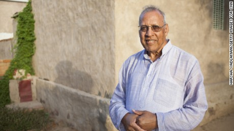 RAILA, INDIA-SEPTEMBER 04: Portrait of Dr. Bhagwati Agrawal taken at Raila village near Pilani in Rajasthan, India on September 04, 2015.  Photo by Harsha Vadlamani/Getty Images Assignment for CNN.