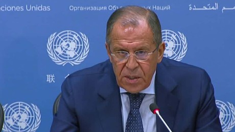 Lavrov: Legal basis of coalition in Syria is flawed