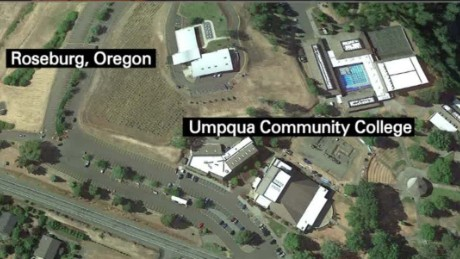 The Immoral Minority: Shooting on Oregon campus. At least ...