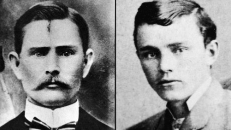 Jesse James and Robert Ford