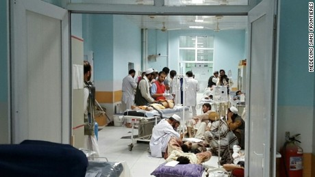 When fighting first broke out early in the week, MSF treated many wounded people while the battle raged around them.