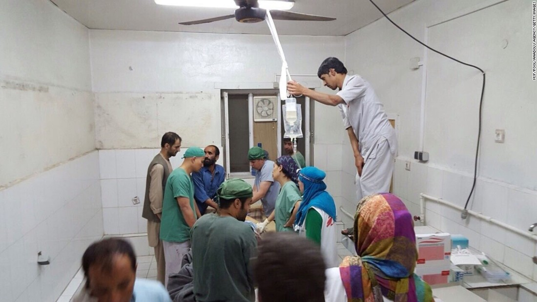 The global charity expressed shock, saying it had told all warring parties, as recently as Tuesday, the exact location of the trauma center.