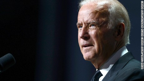 Vice President Joe Biden speaks during the 19th Annual HRC National Dinner at Walter E. Washington Convention Center on October 3, 2015 in Washington, D.C.