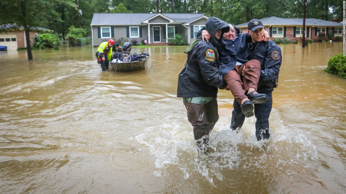 South Carolina Flooding State Not Out Of The Woods Yet