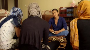 Yazidi women raped and sold by ISIS