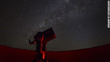 Stargazing under Earth's darkest skies