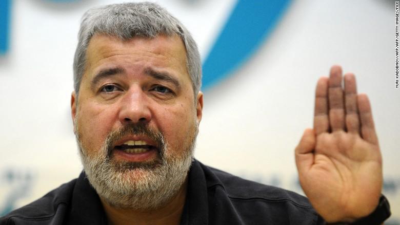 Dmitry Muratov has been the driving force behind Russian opposition newspaper Novaya Gazeta.