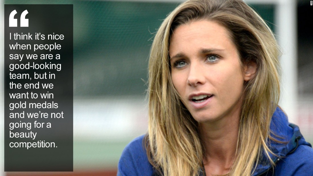 """You could say Ellen Hoog is the model sportswoman -- the Dutch hockey star is on course to make Olympic history, and she has the perfect answer to those who focus on her looks rather than her stick work. <a href=""""http://edition.cnn.com/2015/10/07/sport/ellen-hoog-dutch-hockey-star-model/index.html"""" target=""""_blank"""">Read more</a>"""