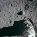 11 astronauts on the moon
