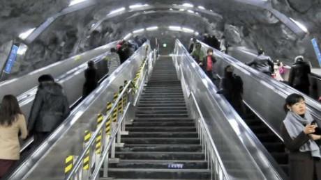 South Korea Subway Hacked Cnn Video
