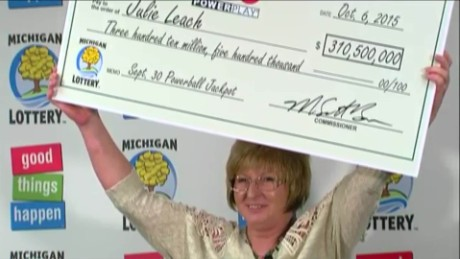Powerball winner quit her job 'automatically'
