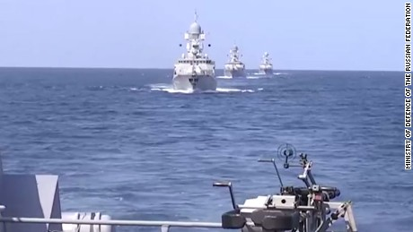 Russian Dagestan Missile Ships