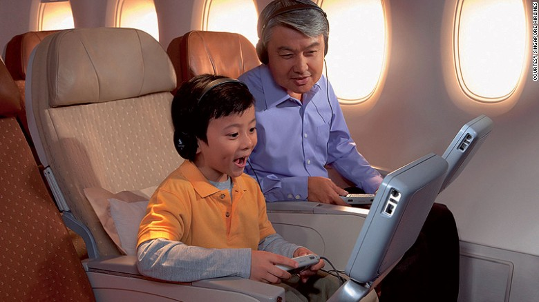 """AirlineRatings.com says: """"Since the days of economy class travel, Singapore Airlines has always set the benchmark high. From generous sized meals, comprehensive inflight entertainment, self-serve snack bars, generously padded seats with optional lumbar support, footrests and large warm blankets, this airline continues to be one of our favorites."""""""