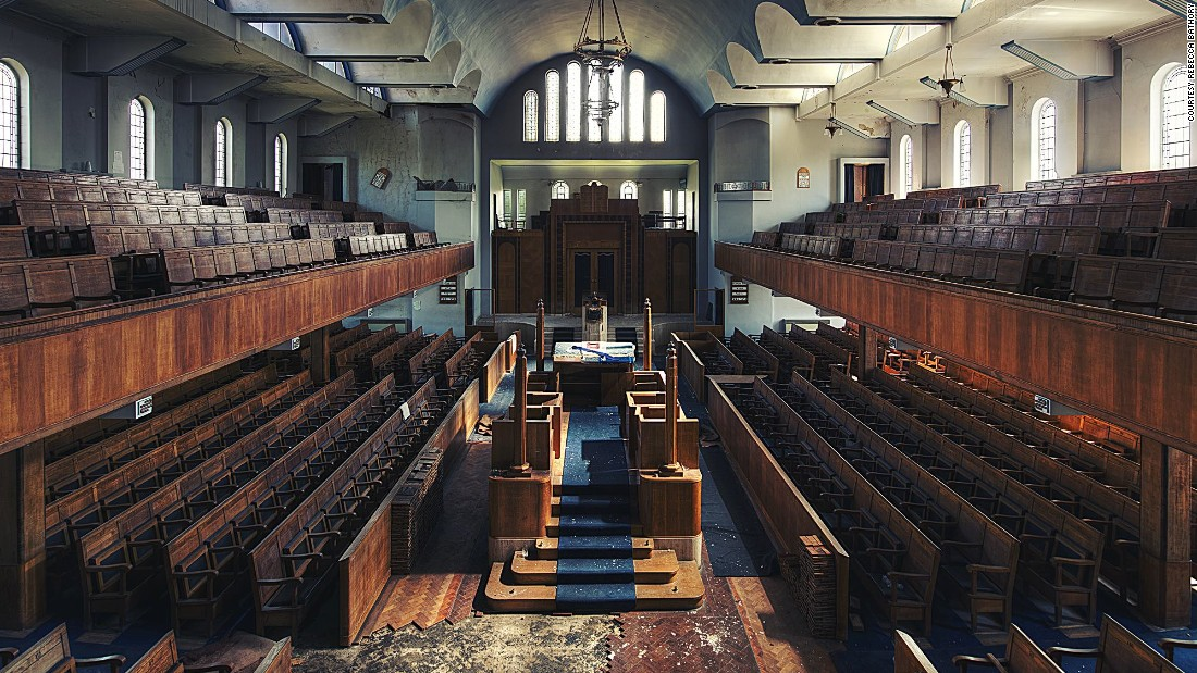 Bathory, who has an MA in fashion photography, is currently completing a PhD in visual anthropology at Roehampton University in London.<br /><em><br />The Ark - An abandoned synagogue in the UK</em>