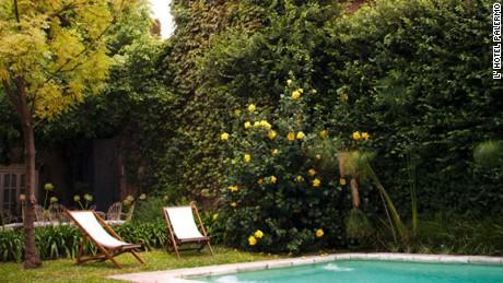 The Palermo's clandestine garden.