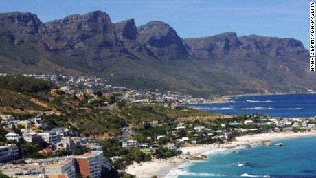 Bring out your paints and brushes, or better yet, your camera, at Camps Bay, Cape Town.