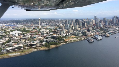 Seattle from above.