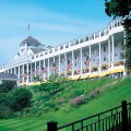 Best Historic Resort: Grand Hotel (1887) Mackinac Island, Michigan.
