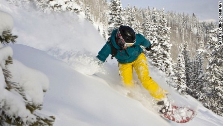Colorado's Holy Trinity: Powder. Board. Aspen Mountain.