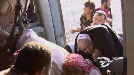 Christians flee ISIS through 'underground railroad'